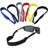 ErenBros PACK 6 Cordón elástico neopreno para gafas de sol y gafas deportivas - Correa de neopreno para retención gafas…