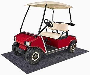 Sszhen Garage Floor Protection Mat,Reusable, Washable, Indoor Parking Mat-Premium Absorbent Oil Pad Contains Liquid (14'7