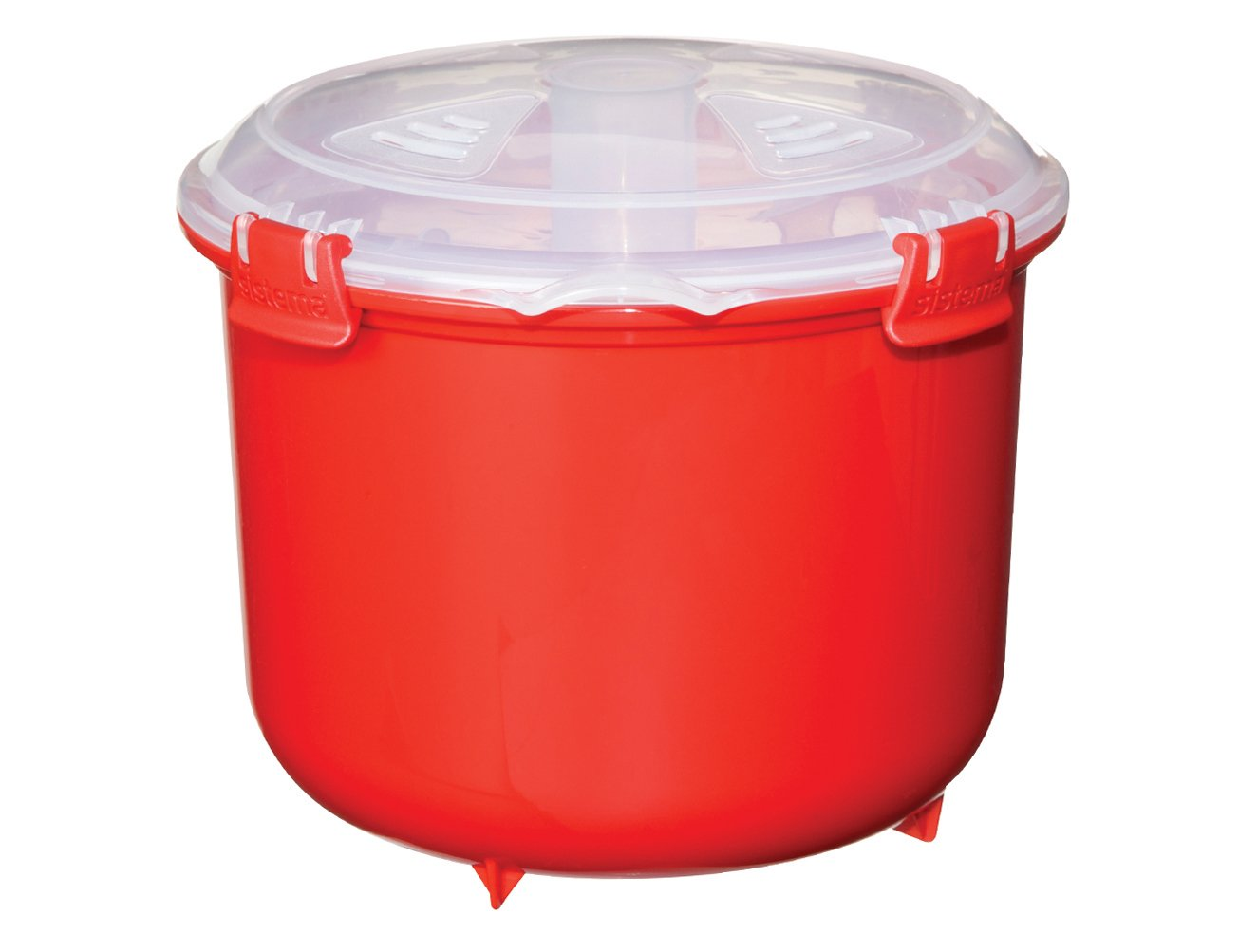 Sistema Microwave Collection Rice Cooker, 87.2 oz./2.6 L, Red by Sistema (Image #3)