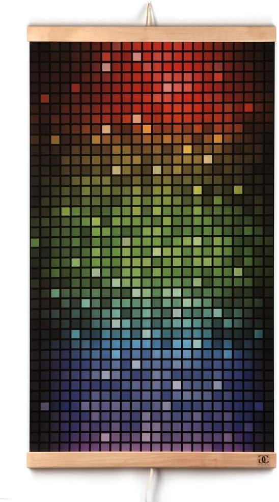 CG Home Calefacción Por Infrarrojos Calefacción de Pared Cuadro de Mosaico - Placa Calefactora de Pared Eléctrica 230V 430W. Eficiencia Energética - Calentamiento Rápido Flexible - Seguro.