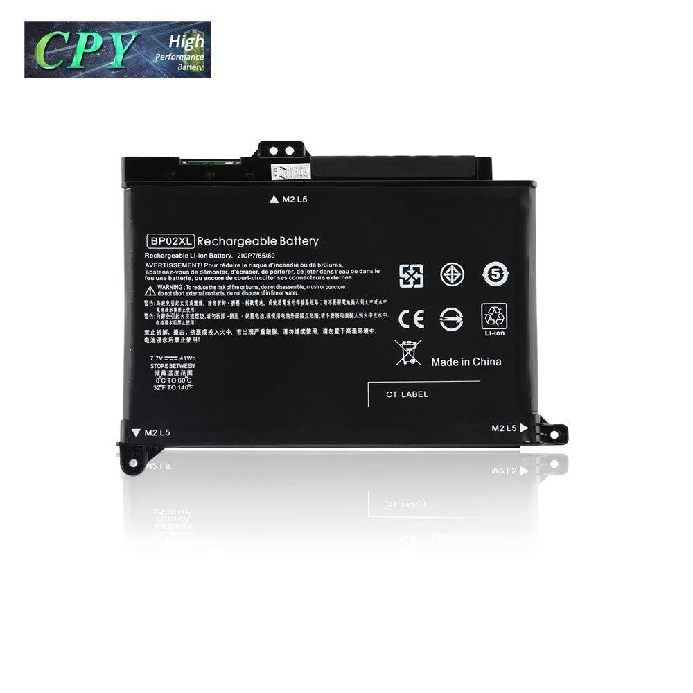 Bateria BP02XL para HP Pavilion PC 15 Series 15-AU010WM 15-AU123CL 15-AW053NR HSTNN-UB7B HSTNN-LB7H 2ICP7/65/80 7.7V 41W