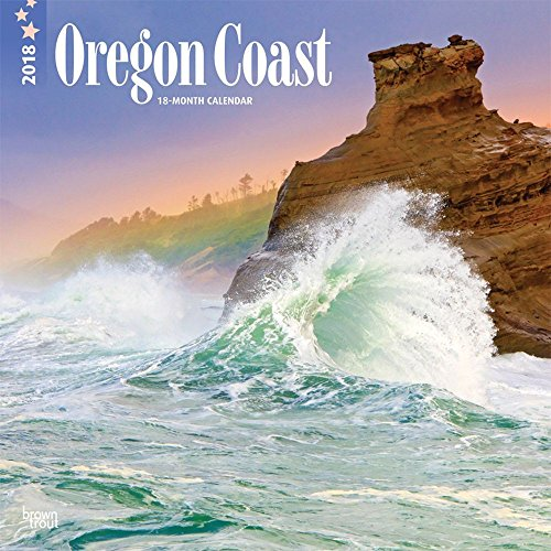 Oregon Coast 2018 12 x 12 Inch Monthly Square Wall Calendar, USA United States of America Pacific West State Ocean Sea Nature (Multilingual Edition)