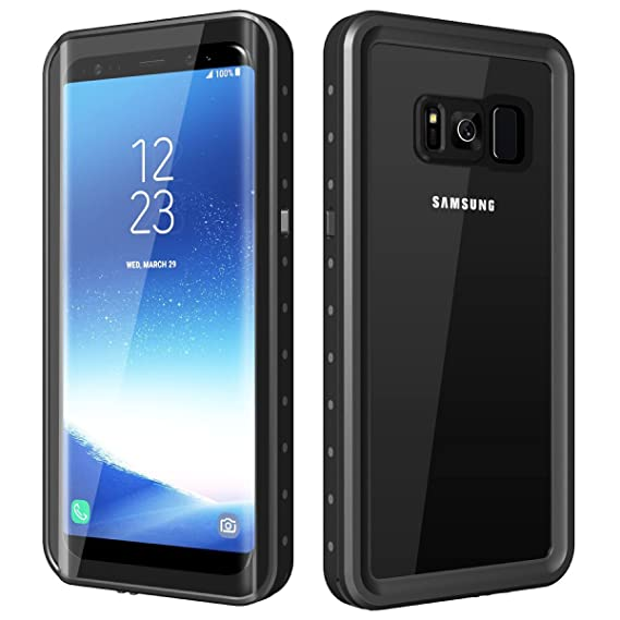 Amazon.com  Waterproof Case For Samsung Galaxy S8 f05e8149242b9