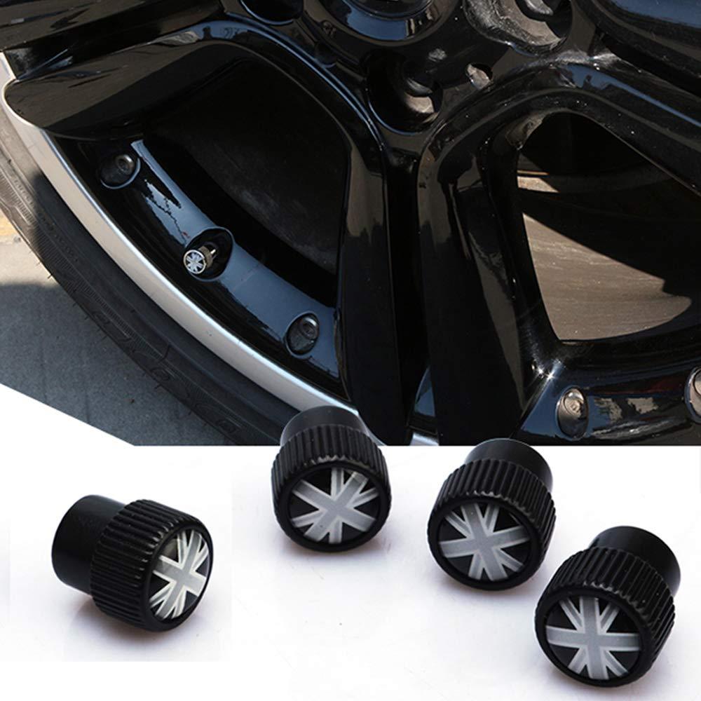 4 Pezzi Tappi universali per valvole dellAria per Mini Cooper JCW Countryman Clubman CCJ