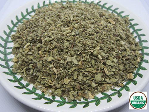 Organic Mullein Leaf – Dried Verbascum thapsus Loose Tea from 100% Nature (4 oz) For Sale