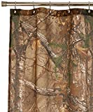 Camo Curtains Realtree Camouflaged Shower Curtain