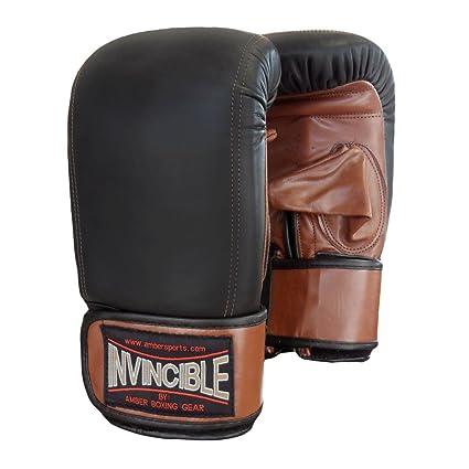 e3e37b3fd1fbb Amazon.com : Invincible Fight Gear Pro Bag Gloves : Sports & Outdoors