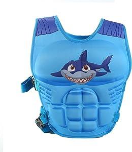 HomDSim Kids'Swim Float Coach Swim Vest Life Jacket Puddle Jumper Swim Toddlers Aid Floatation Life Vest for Kids Paddle Pals