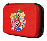 Official Nintendo Mario Travel Case for Nintendo 3DS, 3DS XL, DS, DSi & DSi XL