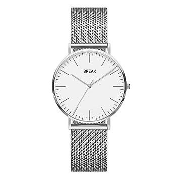 98ca6711f340 Reloj analógico Simple para Hombre de Mujer