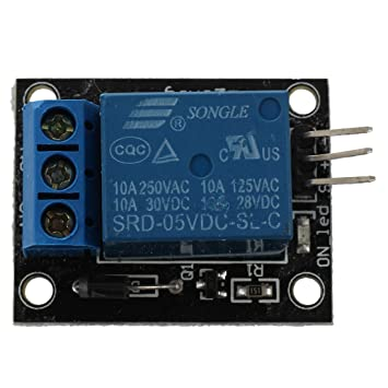 Amazon com: uxcell DC 5V Coil Relay Module for SCM