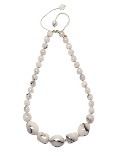 Lola Rose Women Beige Coral Quartz Pendant of Length 70cm 690676 Jr3DV