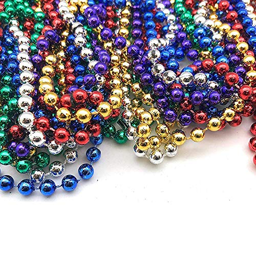 Ikevan 16x Home DIY Mardi Gras Beads Necklaces Party Favors 8 Colors Party Favors, Halloween Parties, Night Club Dress-ups, Party Dress-up, Party Decorations