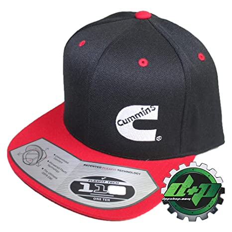 5f9cd9c0c67 Image Unavailable. Image not available for. Color  Diesel Power Plus Dodge  Cummins Trucker hat Ball Cap Flat Bill snap Back Cummings Flexfit red