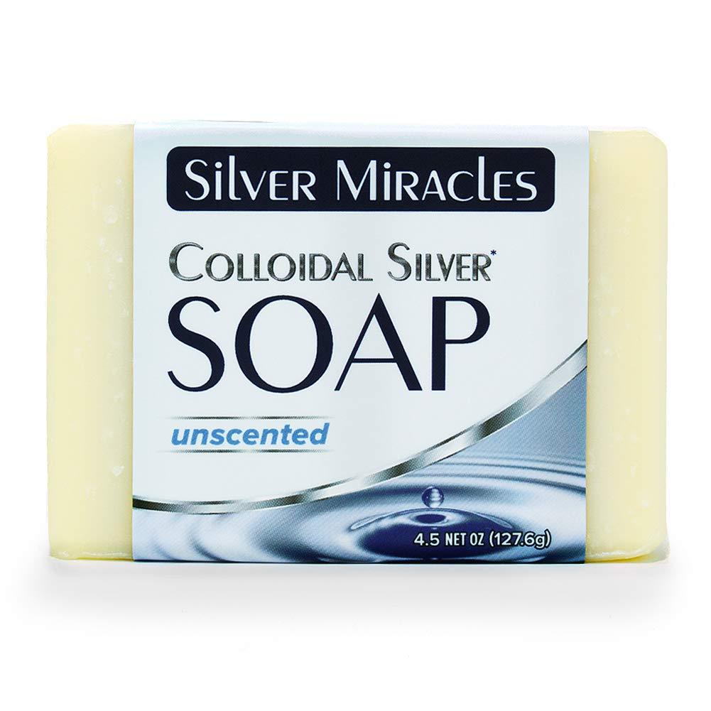 Colloidal Silver Soap - 1 Bar