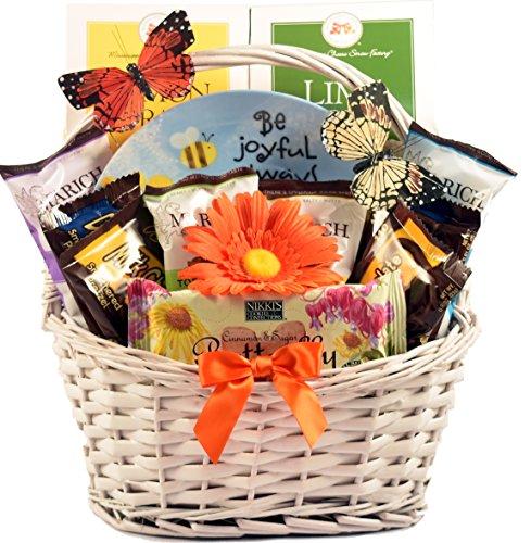 Gift Basket Village Be Joyful Christian Gift Basket]()