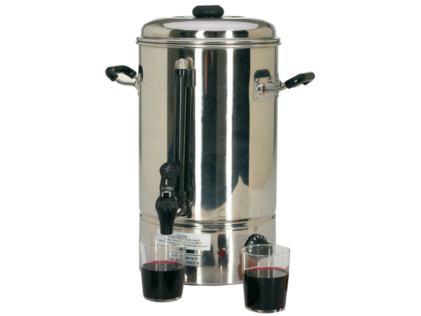 Professionale di heissgetr aenke Dispenser in acciaio inox, 10litri, 1500Watt; WB 10GGG