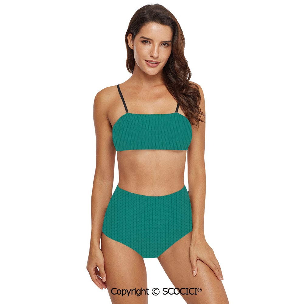 SCOCICI Bikini Swimsuit Swimwear Knitting Inspired Pattern Sewing and Crafting