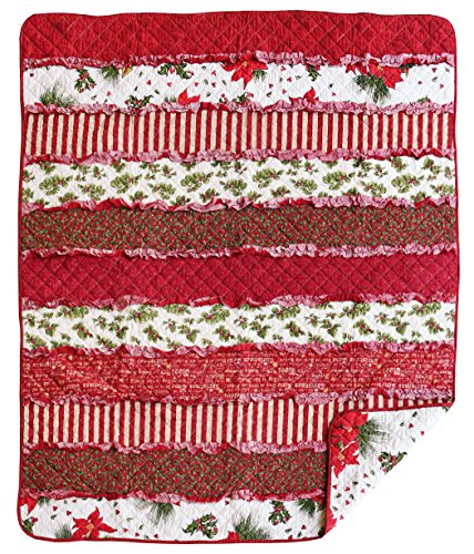 Great Finds 0521 Santa Baby Rag Stripes Pattern Holiday, ...