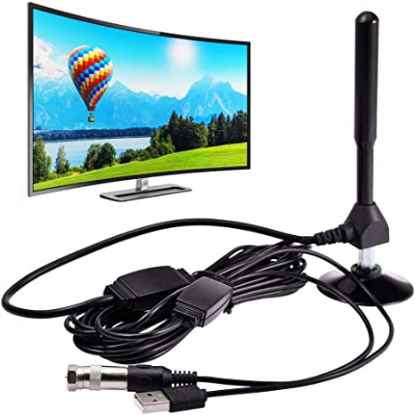 colinsa Antena TV Digital HD, Antena TV Interna amplificada ...