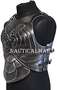 NauticalMart LARP Armor Fantasy Dragon Knight Body Armor Cosplay Armor Chest Armor LARP Armour