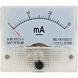 uxcell® DC 0-30mA Analog Current Panel Meter Amperemeter 85C1-A