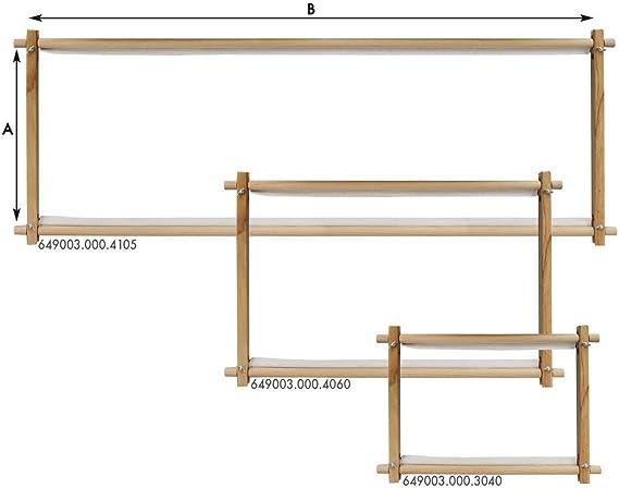 Cose - Bastidor Rectangular de Madera - 30 x 40 cm: Amazon.es: Hogar