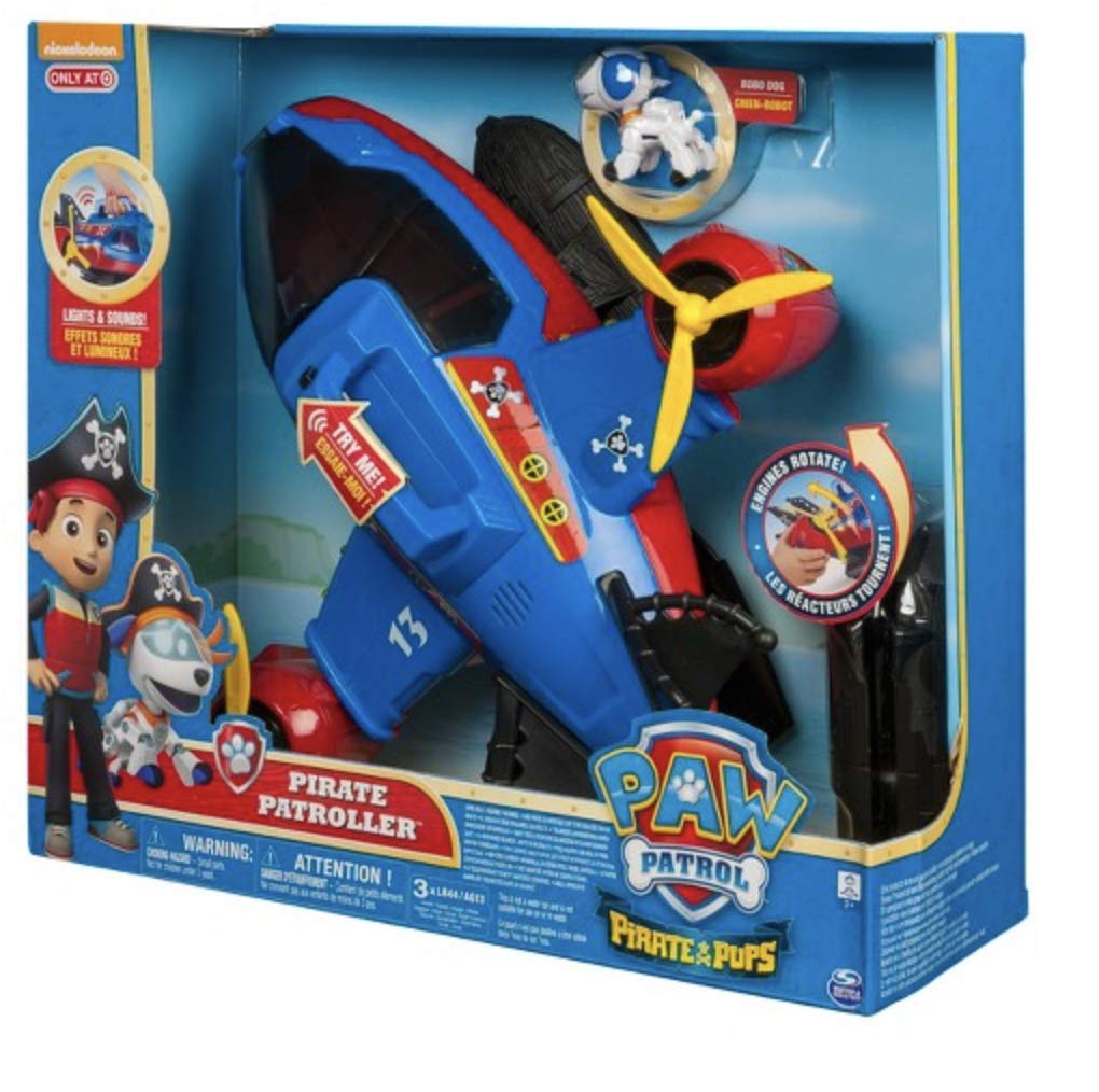 NEW Paw Patrol Pirate Pups Pirate Patroller Spin Master 6037876 778988680094