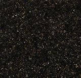"Instant Granite Black Granite Counter Top Film 36'' x 240"" Self Adhesive Vinyl Laminate Counter Top Contact Paper Faux Peel and Stick Self Application"