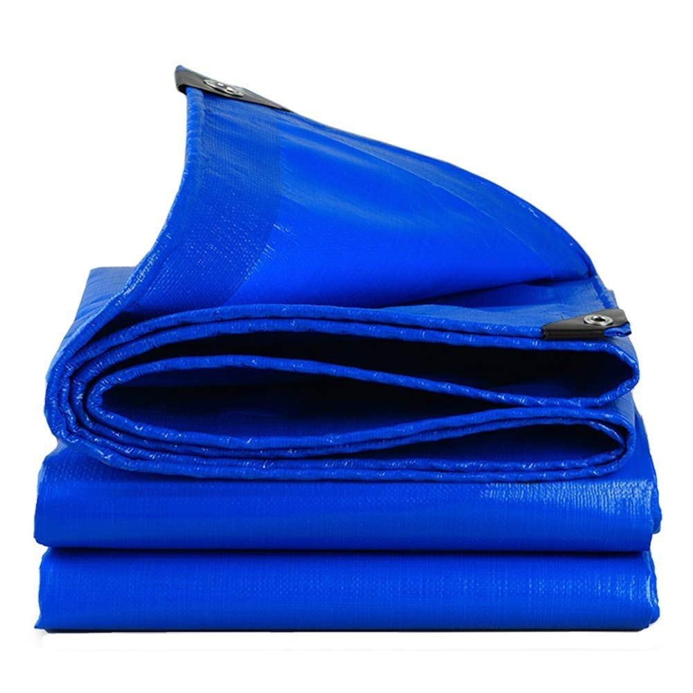 ターポリン グロメットが付いている屋外の防水ターポリンは防水防水シートシートの日焼け止めの陰の小屋の布を厚くしました - 186g / mの² (Size : 8*12m) B07SNNFFXZ  8*12m