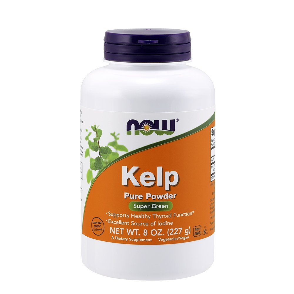 NOW Kelp Powder 8 Ounce Pack Image 1