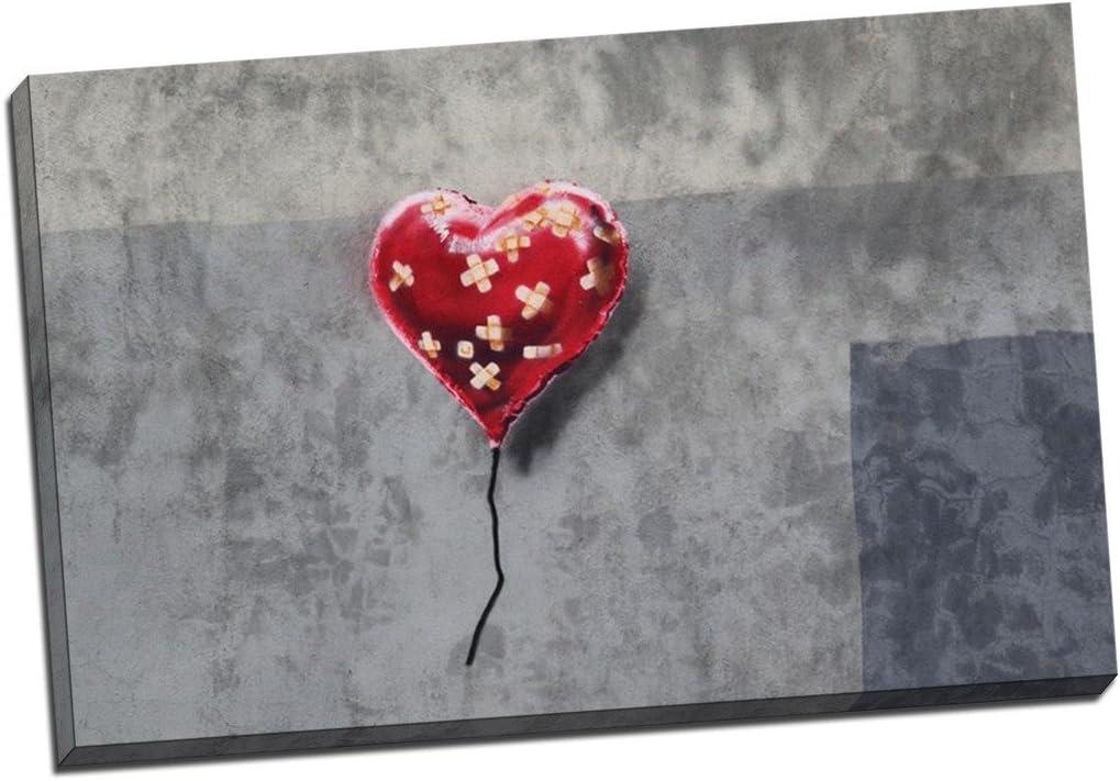Banksy The Flag Canvas Print 20*30 Inch HUGE !