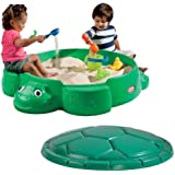 Unbranded Turtle Round Sandbox-Construction Material: 100% Plastic