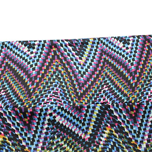 Novias Mujer Fashion Multicolor Impresión Playa Maxi Faldas larga falda de talle alto Geometric 3