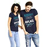 Bon Organik Nobody Can Replace You Matching Couples Valentines Day Tee