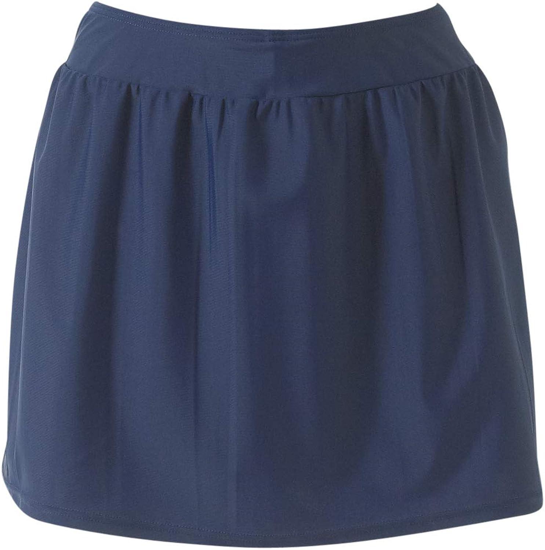 Scuba Womens Girls Skort Swim Skirt with Attached Swim Shorts School Sports Training