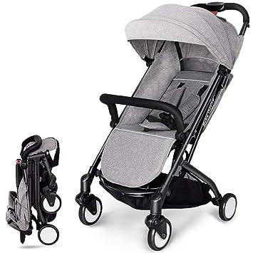 QZX Sistema de Viaje Ligero Cochecito de bebé Cochecito de bebé ...