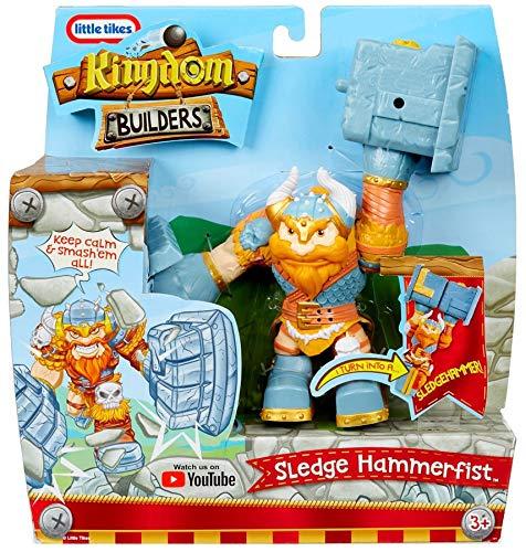 Sledge Hammerfist ... MGA Entertainment SG/_B07H3HX8FQ/_US Kingdom Builders Turn Into A Sledgehammer