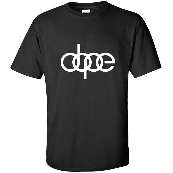 Dope, Audi TT S4 QUATTRO VW Turbo Boost JDM Illest R8 - Camiseta de manga corta para hombre negro M: Amazon.es: Ropa y accesorios
