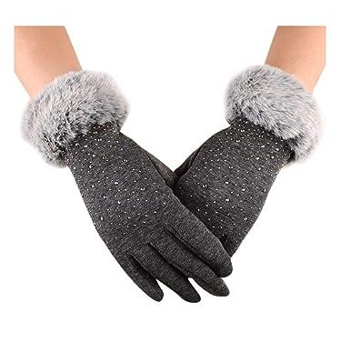 6e840109f5812 Gants, Covermason Womens Touch écran hiver plein air Sport gants chauds ( taille libre,