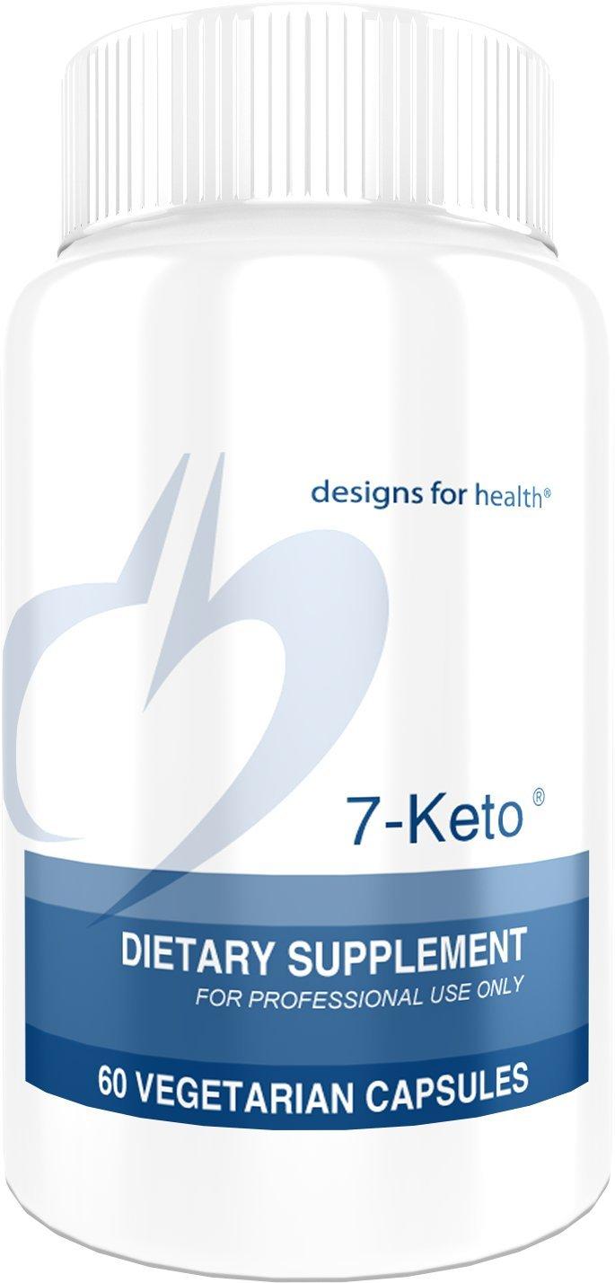 Designs for Health 7-Keto - 100mg 7-oxo DHEA (60 Capsules)