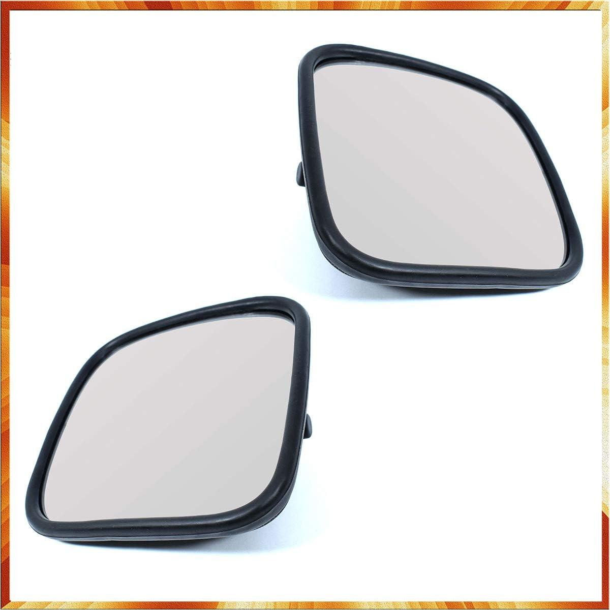 2x LKW Spiegel universal 18 x 18 cm Seitenspiegel E-Pr/üf