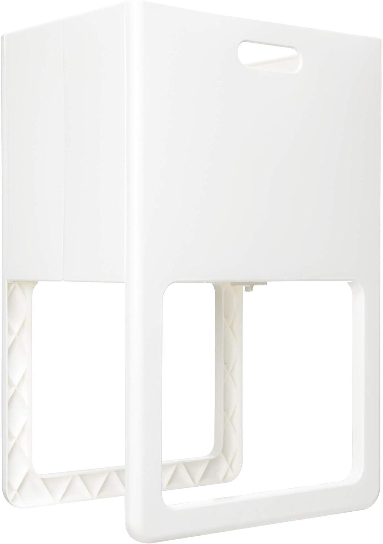 ISETO Folding Basket with Legs Acot (White)