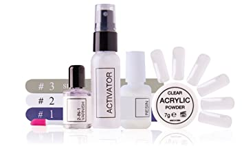 Rio Beauty NACR-3000 - Kit extensiones de uñas acrilicas: Amazon.es: Hogar