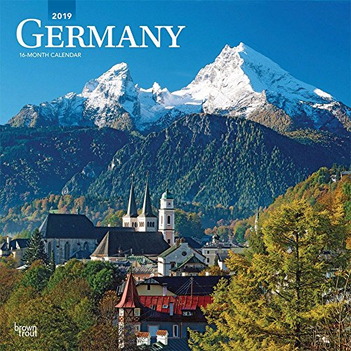 Best buy Germany 2019 12 x 12 Inch Monthly Square Wall Calendar, Scenic
