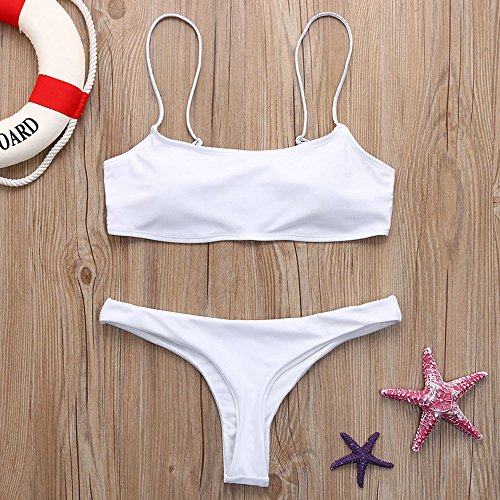 Women!!! Women Halter Bandage Bikini Set Push-Up Brazilian Swimsuit