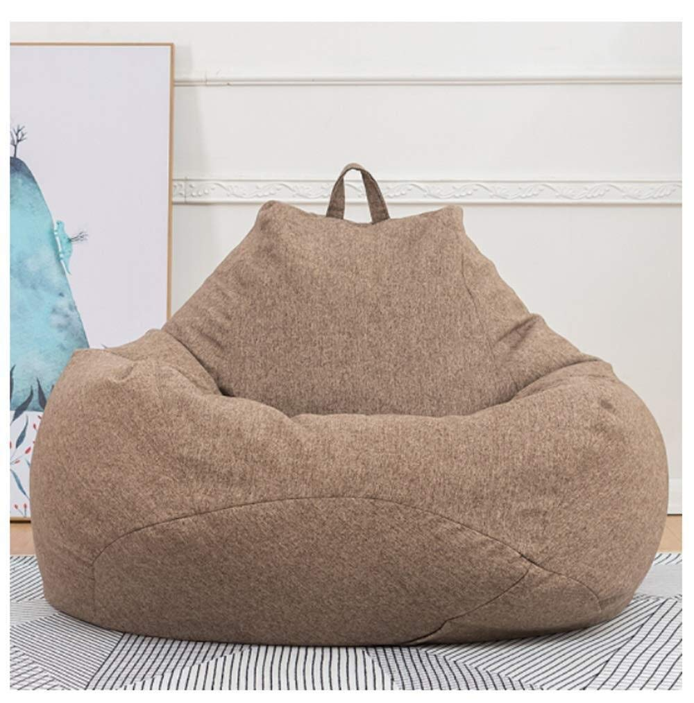 Amazon.com: WWsofa Bean Bag Chair Adult Lazy Sofa Bed High ...