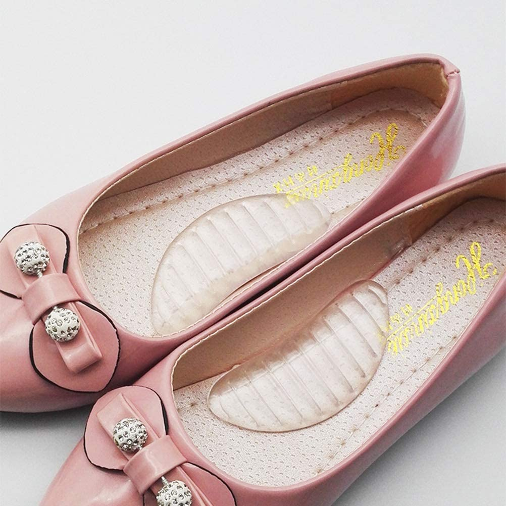 Flip-Flops Stiefel f/ür Schuhe 3 Paar Sandalen Heallily Silikon-Gel-Einlagen f/ür Fu/ßgew/ölbe High Heels