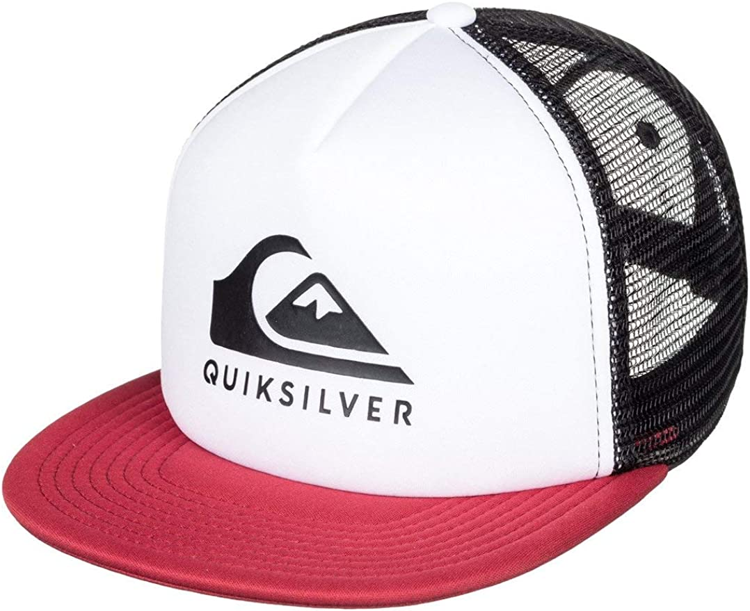 Quiksilver - Gorra Trucker - Hombre - One Size - Blanco ...