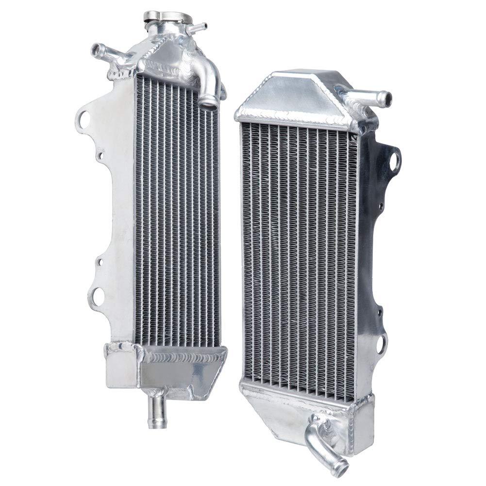 Tusk Aluminum Radiator Set - Fits: Yamaha YZ450F 2010-2013 by Tusk